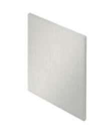 Levně Krytky pro krycí klipový profil pro dřevěné dveře Solido 80 Hliník stříbrně eloxovaný montáž na stěnu (jednostranné)
