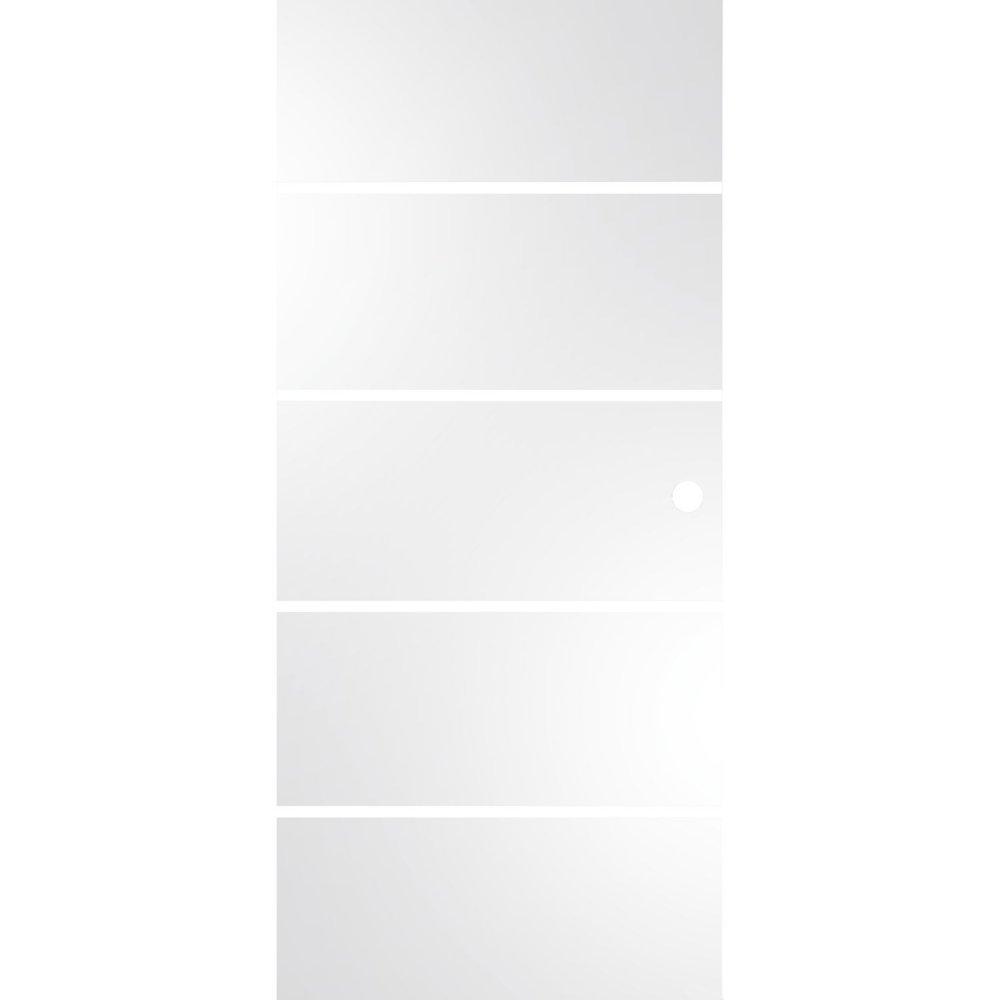 Celoskleněné posuvné dveře Sensita 15 820 mm