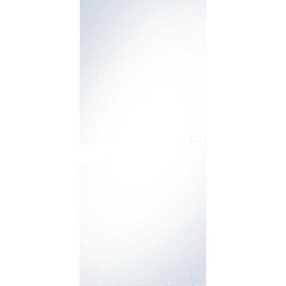 Celoskleněné posuvné dveře čiré sklo 820 mm