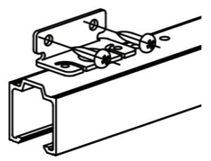 montáž hliníkového setu