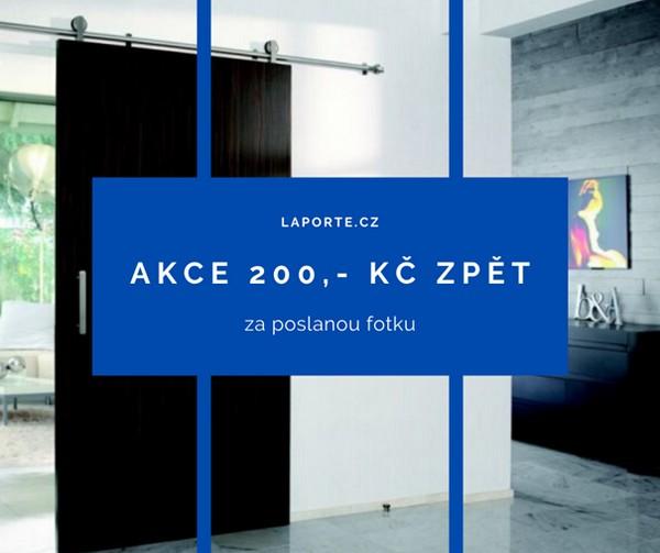 200 Kč za foto kování pro posuvné dveře Laporte