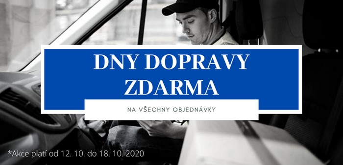 Dny dopravy zdarma na Laporte.cz