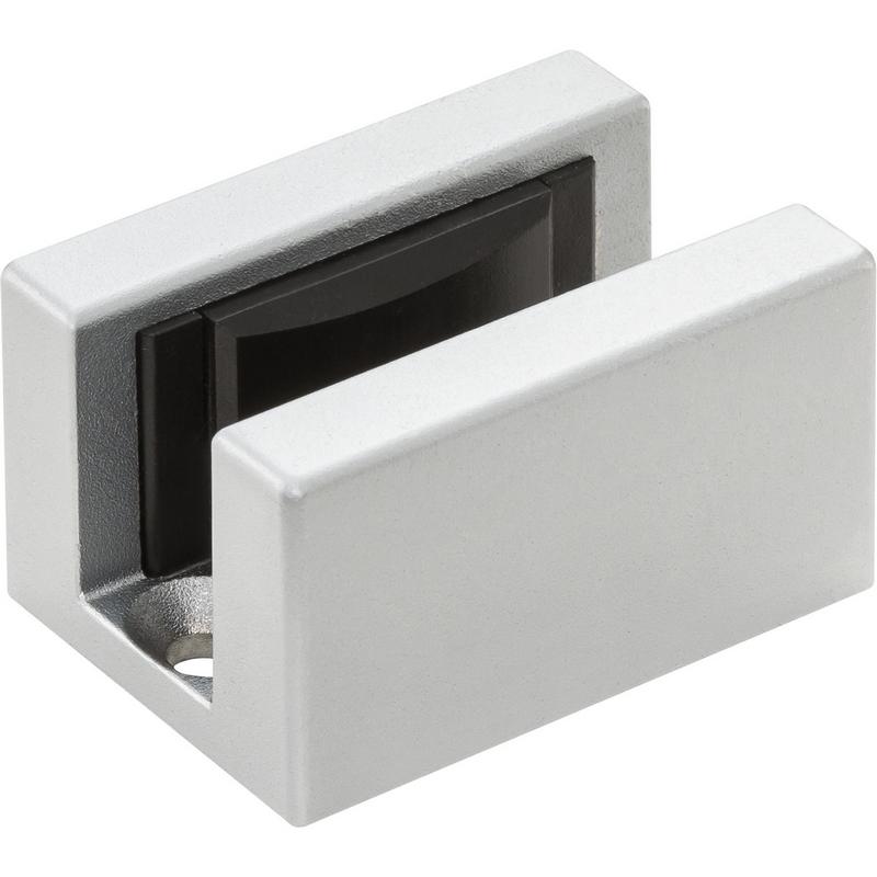 Podlahové vedení skleněných dveří