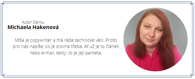 Bc. Michaela Hakenová - Laporte.cz