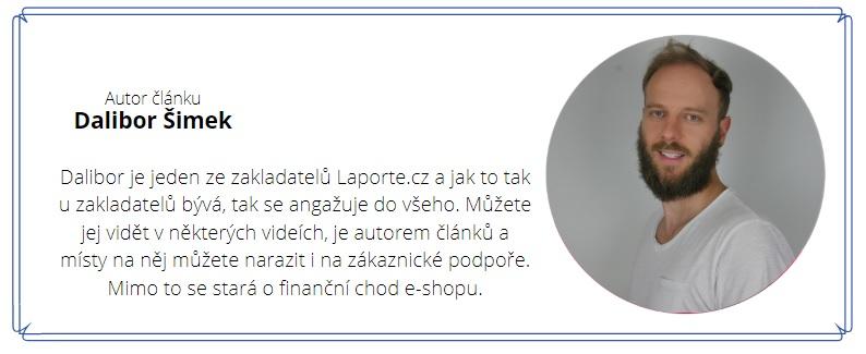 Článek pro Vás sepsal Dalibor z Laporte.cz