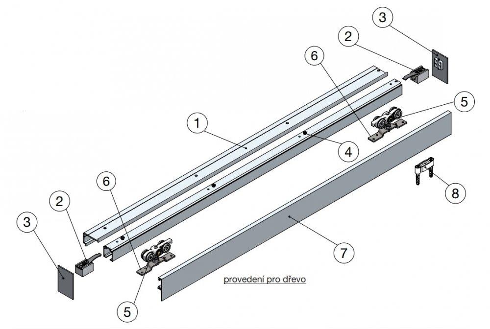 Jak použít hlíníkové kování pro posuvné dveře SOLIDO?